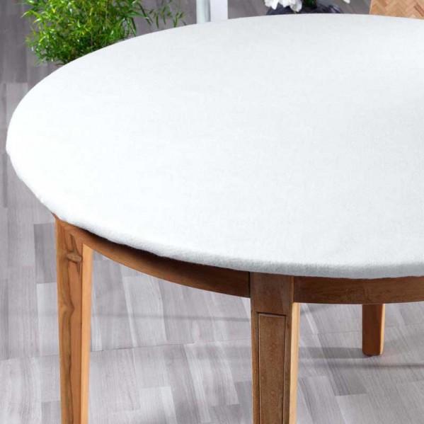 Mollettone tavolo varie misure 100 cotone - Mollettone per tavolo ...